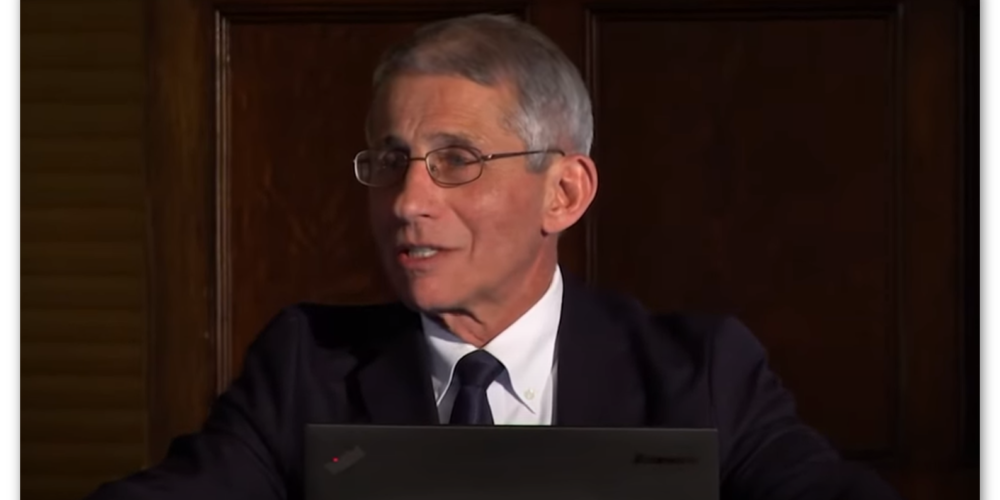 A pandemic? or a Dr. Fauci plandemic?
